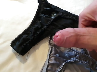big cock Rental option scrounger spatter precum on my gfs satin controls amateur