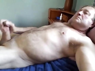 daddy pop jerk retire from plus cum big cock