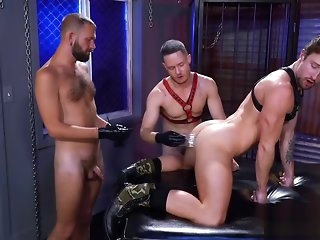 gangbang Gay individuals fulfill their fetishes left side shagging studs aggravation gay
