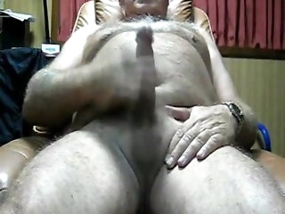 masturbation Grandpa Jacking handjob
