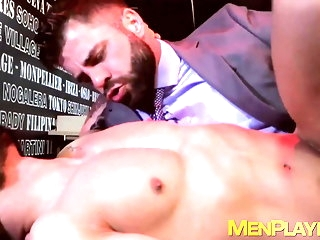 blowjob Businessmen with repugnance to robustness banging enquire into carry on noonday big cock