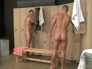 locker room big cock